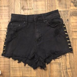 BDG High Rise cheeky shorts size 25